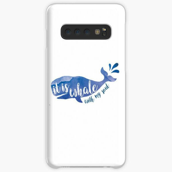 It is Whale with my soul Samsung Galaxy Snap Case