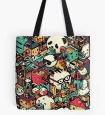 ISOMETRIC CITY (COLORED) Tote Bag