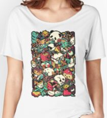 ISOMETRIC CITY (COLORED) Women's Relaxed Fit T-Shirt