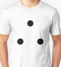 therefore (3 dots) Unisex T-Shirt