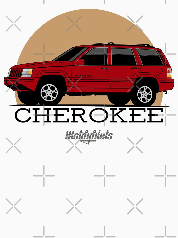 Jeep Grand Cherokee (ZJ) (red) by MotorPrints