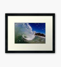 Far Out Framed Print