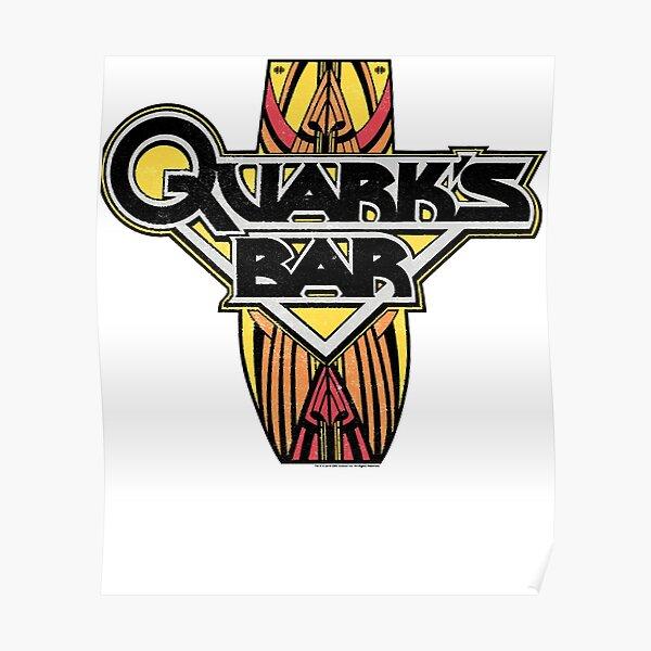 Quarks Bar Logo Poster