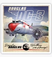 "WINGS Series ""DC-3"" Sticker"