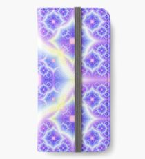 Fractal astral worlds pattern. Spiritual trance vision. iPhone Wallet