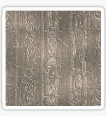 Batten wooden pattern   Sticker