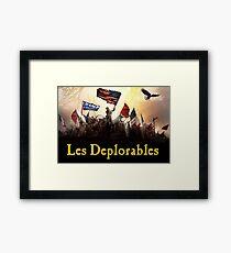 Les Deplorables Framed Print
