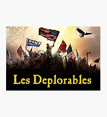 Les Deplorables Photographic Print