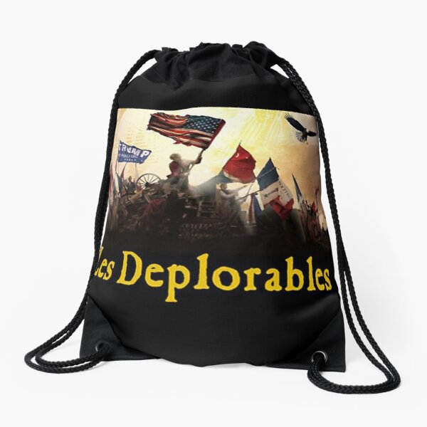 Les Deplorables Drawstring Bag