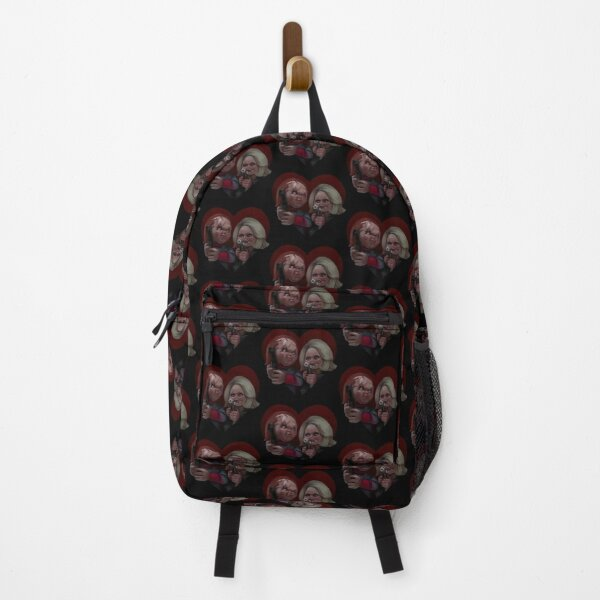 Bride of Chucky BLACK BACKGROUND  Backpack