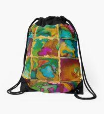 Broken Mosaic Drawstring Bag