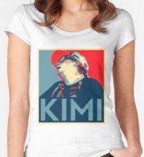 Kimi Räikkönen Hope Women's Fitted Scoop T-Shirt