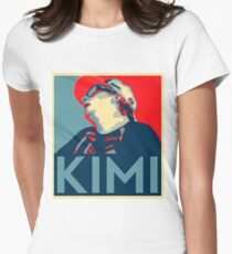 Kimi Räikkönen Hope Women's Fitted T-Shirt