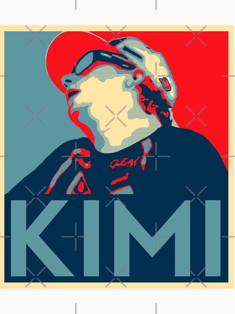 TShirtGifter presents: Kimi Rikknen Hope | Unisex T-Shirt