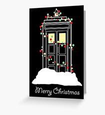 Christmas Sci-Fi - I Greeting Card