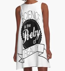 Science Poetry of Reality (mugs) A-Line Dress