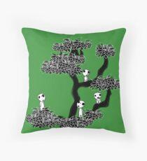 Kodama Tree Throw Pillow