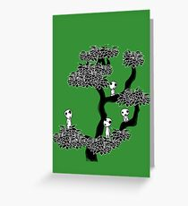 Kodama Tree Greeting Card