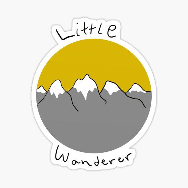Little wanderer doodle Sticker