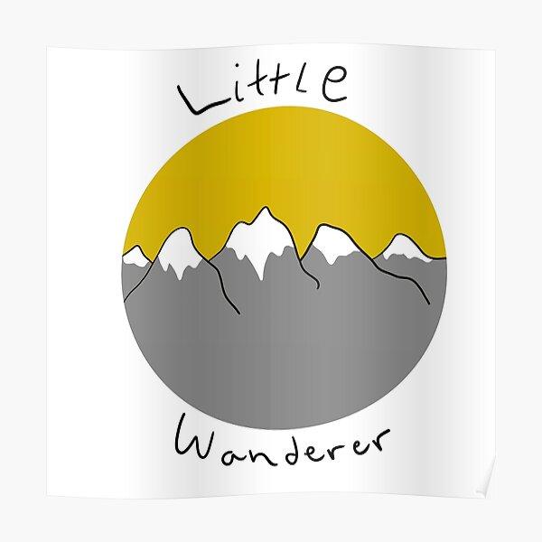 Little wanderer doodle Poster