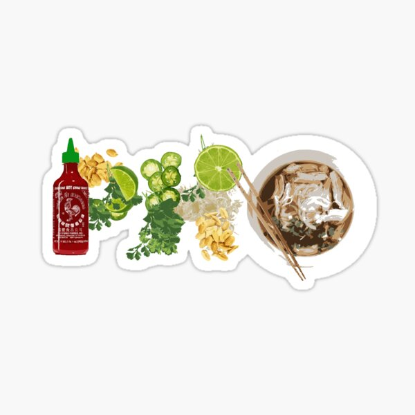 VIETNAMESE PHO SOUP Sticker
