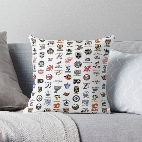 NHL teams Throw Pillow