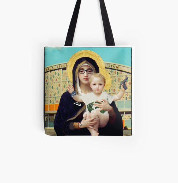 Madonna of concrete [HIPSTERIA] All Over Print Tote Bag