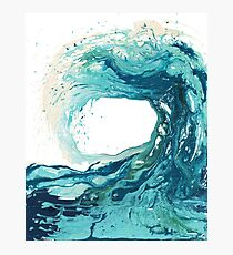 Surf Art Wave Print Ocean Picture Photographic Print