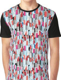 Cool pattern graphic lipstick Graphic T-Shirt