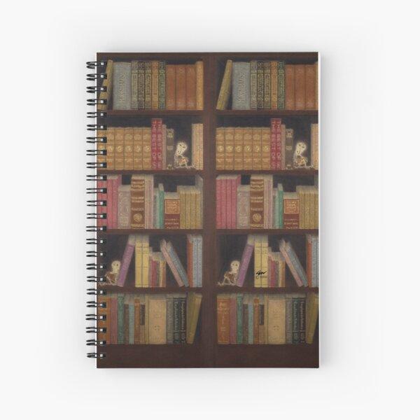 Bookcase Spiral Notebook Spiral Notebook