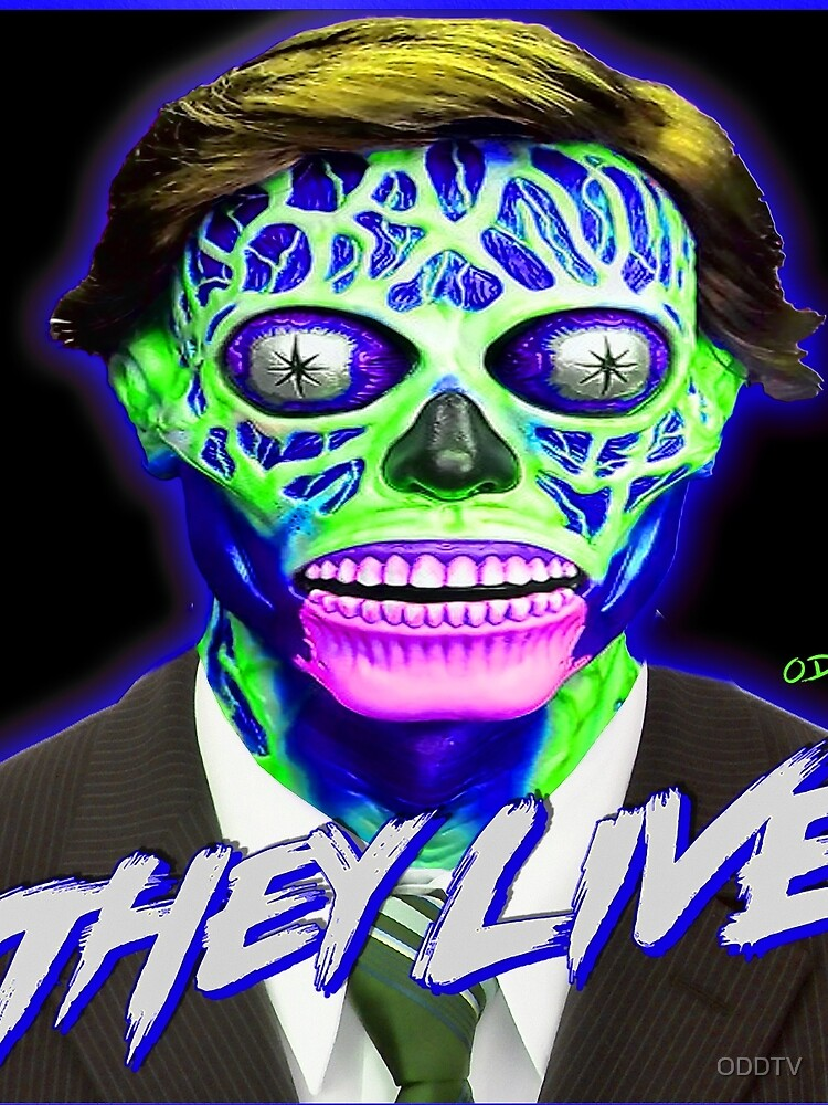 THEY LIVE - Blue & Green by ODDTV