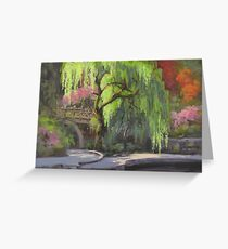 The Willow Greeting Card