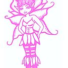 Pink Faery by pixiewildflower