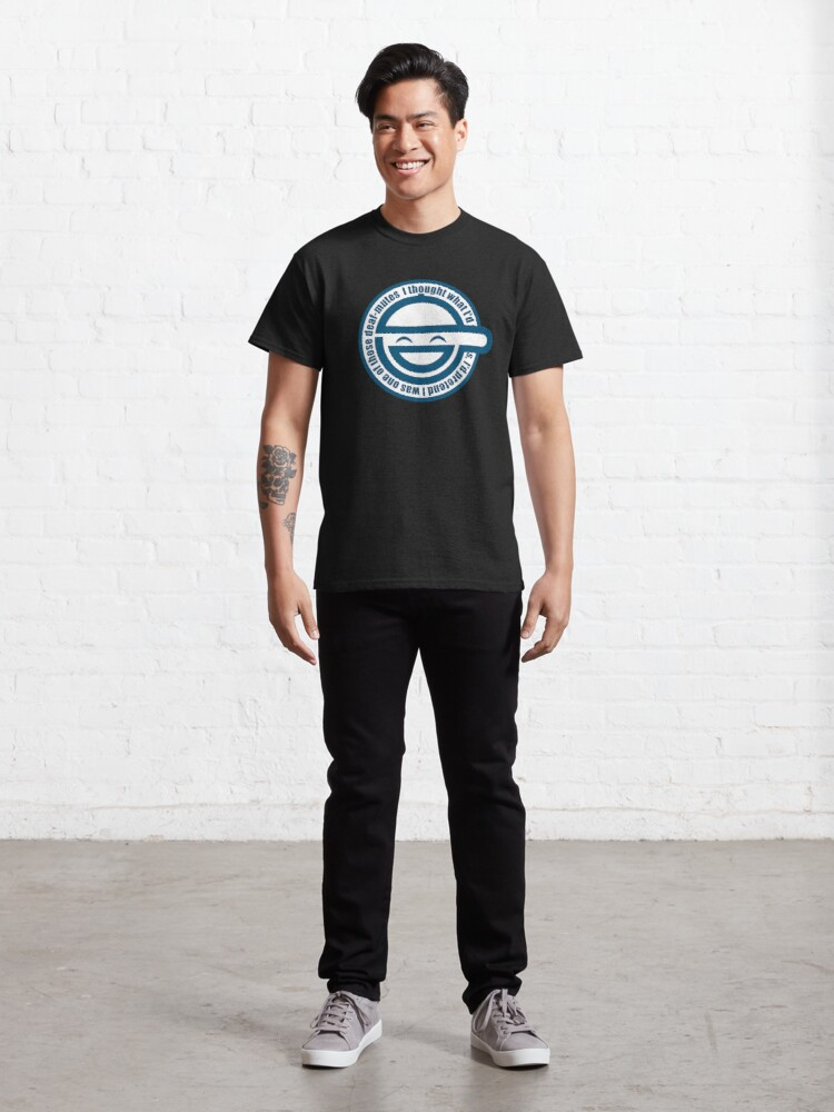 Alternate view of Laughing Man - GHOST IN THE SHELL Classic T-Shirt