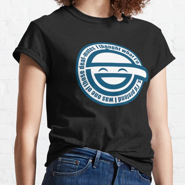 Laughing Man - GHOST IN THE SHELL Classic T-Shirt