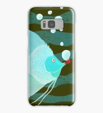 Bubble Fish Red Pipe Samsung Galaxy Case/Skin