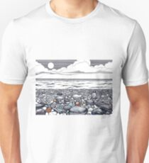 pables beach E/B Unisex T-Shirt
