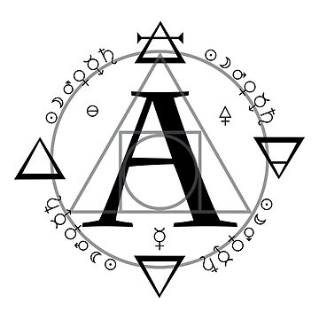 A is for Alchemy (Simple)  by wwwdotinternets