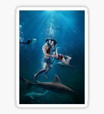 Underwater Rondezvous Sticker