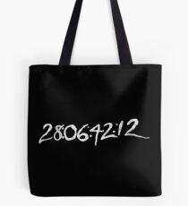 """Donnie Darko """"28:06:42:12 - World's End"""" Tote Bag"""