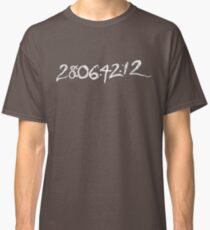 "Donnie Darko ""28:06:42:12 - World's End"" Classic T-Shirt"
