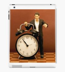 Big Time / Time is in your hands iPad Case/Skin