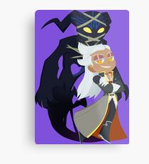 Chibi Ansem and Guardian Metal Print