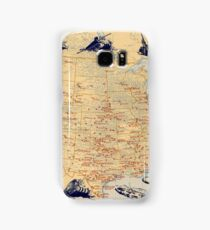 American Military Posts 1944 Samsung Galaxy Case/Skin