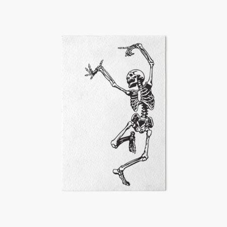 Dance With Death Art Board Print