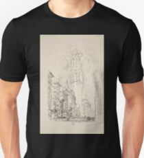 280 Lithographs of New York in 1904 The Times building T-Shirt