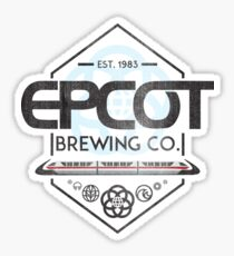 Epcot Brewing Company Sticker