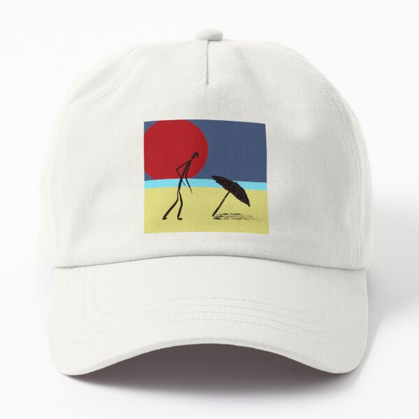 Man on the Beach | Chic Design for Summer and Dreams of Summer Dad Hat