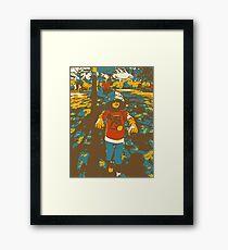 BucketHeadZombie Framed Print