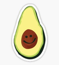 Avocado Smile Sticker
